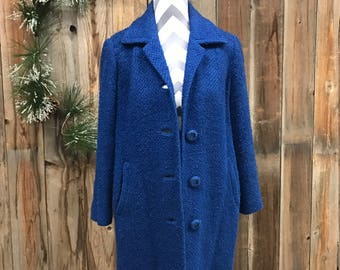 40's Royal Blue Coat