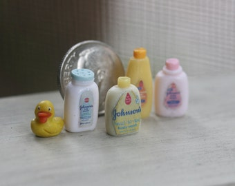 Dollhouse Miniature One Inch Scale 1:12 Baby Items by CSpykersMiniaturesUS