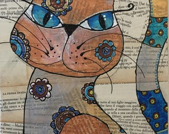 """Bunny-Series """"The Cat that tells the Fables"""""""