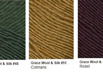 Louisa Harding GRACE Wool and Silk DK Weight Yarn