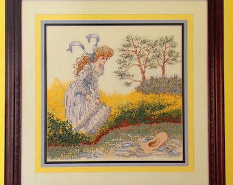 Cross My Heart Summer Maiden Counted Cross Stitch Booklet