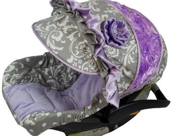 Custom Car Seat Cover 4 Pc Set Baby Car Seat Cover Fancy Car