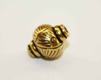 Spacers, Antique Gold Bead Spacer, Bead Spacer - 10x8mm - 10ct - #536