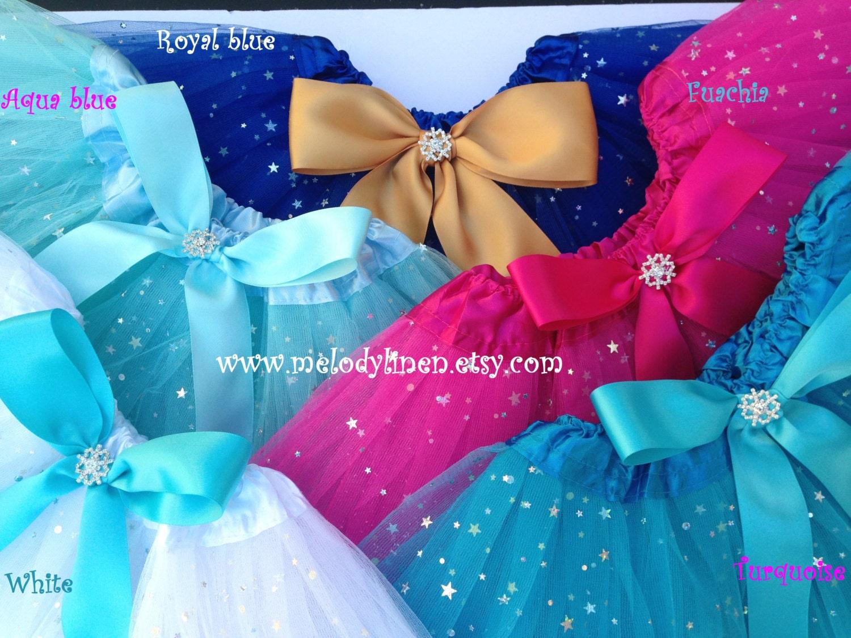 Frozen Tutu frozen birthday outfit frozen party favors Elsa
