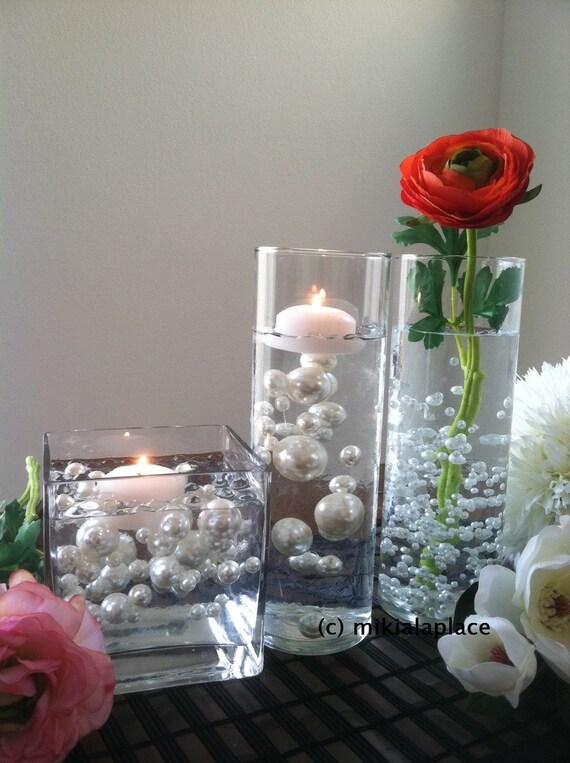 Ivory Jumbo Pearlstable Confetti Mix Sizes