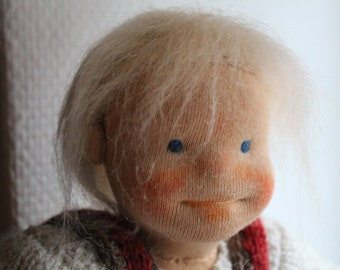 Handmade Waldorf Inspired Doll