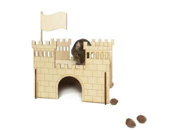 pet castle / animal castle / chinchillas castle / wooden castle / wooden rabbit castle / personalized castle