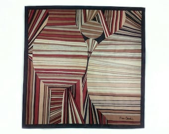 Pierre Cardin, silk scarf, women's accessories.