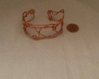 Twisted Wrapp Copper Bracelet