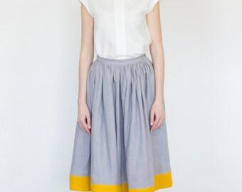 Ready to ship, White top, cotton top, cotton blouse, natural cotton top.