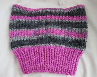 Pussyhat — P_ssyhat — Knit Cat-Ears-Hat — Kitty-Ears Hat — Protest Pussyhat — Pink Pussyhat — Women's March Pussyhat Beanie - Rebel Pussyhat