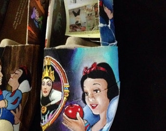 Hand Painted Snow White Toms