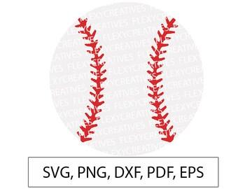 Baseball SVG, Baseball Vector, Clipart, Cut File, Baseball Clip Art,  Cricut, Baseball png, DXF, pdf, EPS FlexyCreatives #vc-37