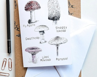 Blank card - Fungi Collection