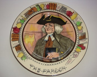 The Professionals Collector Plate by Royal Doulton ~ The Parson D6280