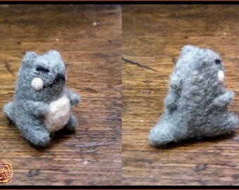 2 Sizes Miniature Needle Felted Substitute Doll - Pokemon - Soft Sculpture