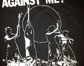 AGAINST ME Crime tshirt punk / folk-punk band