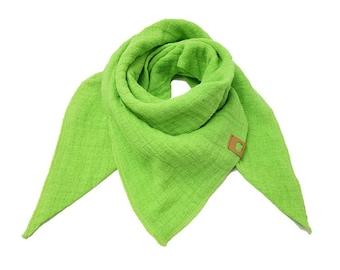 Triangular cloth, muslin, cloth, burb, scarf