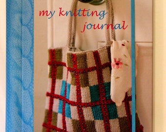 MY KNITTING JOURNAL Knitting Book Keep Project Details Spiral Hardcover Project Tips How-To Book New Condition Gift Gray Mountain Goods