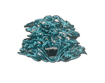 Fright Night Vampire Horror Enamel Pin