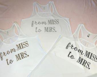 Miss to Mrs Tanks