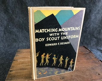 First edition Boy Scout uniform book 1929