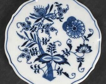 "Blue Danube Blue Onion Hot Plate 6"""