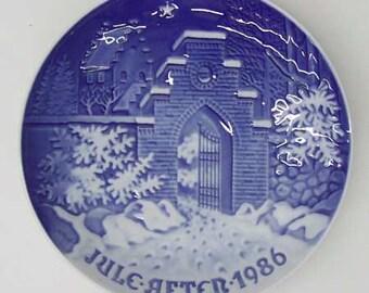 1986 Bing & Grondahl Christmas Plate