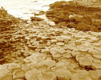 Giant's Causeway 3 - Fine Art Photograph by Denise Sloan
