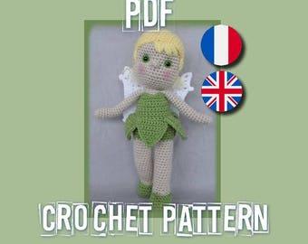 Fée Clochette ( Tinkerbell crochet pattern )