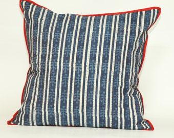 Indigo Lahiri Square Decorative Pillow 20x20