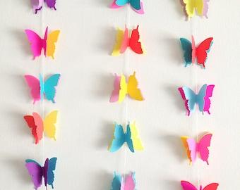 NEON Butterfly Garland