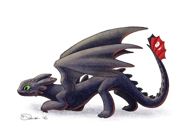 Toothless Pounce