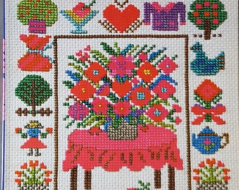 The Best Collections of Cross-Stitch Designs & Handiwork Instruction Book