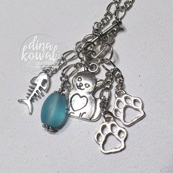 Charm Necklace - Cat Lover