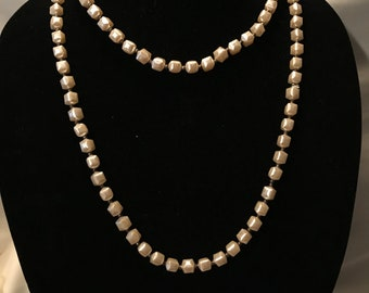 80's Retro Beaded Necklace         LV0162