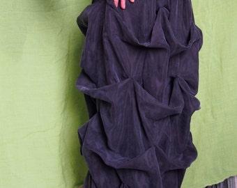 Long  Skirt Cotton - Cupro Skirt