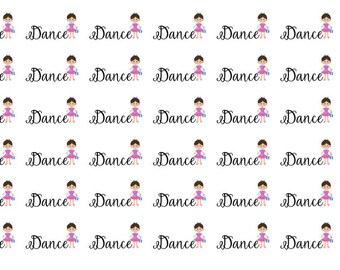 Dance Wordy Icons WI0042