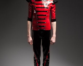 "Latex military trousers ""Regimental Trousers"" by Maniac Latex"