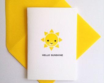 Cute Card – Hello Sunshine