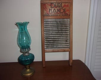 Vintage DUBL HANDI small washboard by Columbus Washboard Co. - Columbus, OH
