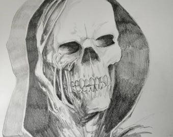 The Reaper, 8x10 drawing