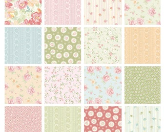 Benertax Sweet Baby Rose   Dover Hill Studio   Quilt Fabric   Precuts   Fabric Bundle   Charm Pack   Yardage  