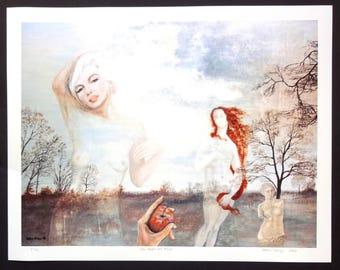 """Fine Art Giclée print """"The Apple of Paris"""" 10 signed pieces"""
