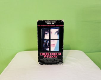 The Bedroom Window VHS Tape. Cult Classic Erotic Thriller Movie. Steve Guttenberg Original 80s Thriller Vhs. 80s Movie Night. Vhs Gift