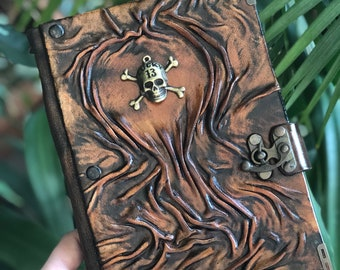 Steampunk Journal, Leather Journal, Leather Notebook, Travel Journal, Diary