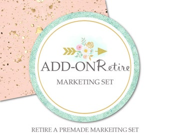 """Add On Retire Marketing Set-Premade Marketing Sets """"Never Sold"""" in Shop-Purchase Owner Rights to Make Package Exclusive and OOAK"""