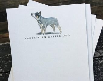 Australian Cattle Dog Note Card Set