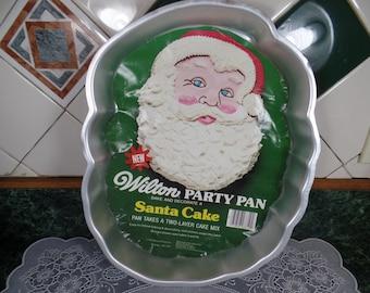 Wilton Santa Cake Pan - Vintage Wilton Santa Cake Pan - Santa Cake Pan - Wilton - Wilton Santa Pan - Wilton Party Pan - Cake Pan-Wilton Pan