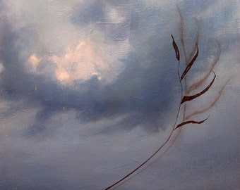 oil painting landscape sky  - Feign